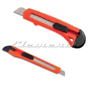 9mm or 18mm Snap Off Lockable Utility Knife